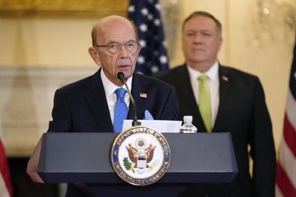Americký minister obchodu Wilbur Ross.