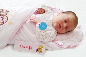 Ellie Sofia Cigáňová z Valaskej Belej sa narodila 3.10. v Bojniciach