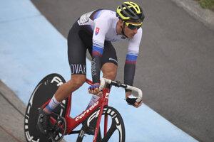 Slovenský cyklista Martin Chren - ilustračná fotografia.