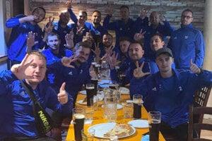 Tomášovčania (na fotke) vyhrali v susedskom derby nad Vidinou.