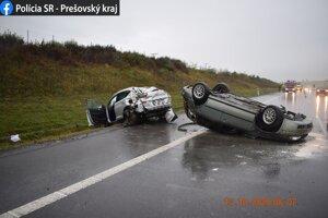 Rýchlosť na diaľnici medzi Spišským Štvrtkom a Štrbou je obmedzená na 100 kilometrov za hodinu.