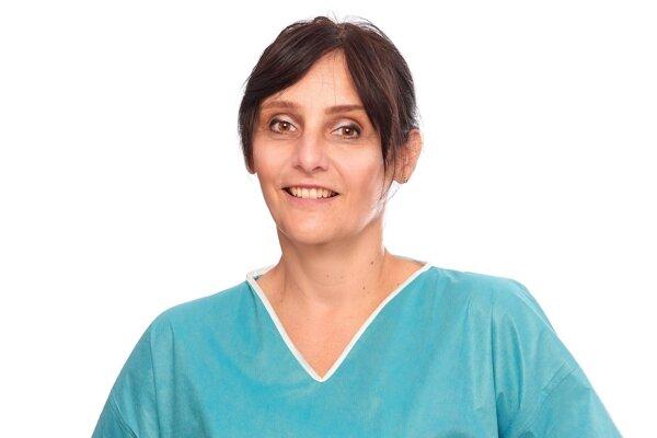 Gastroenterologička MUDr. Zuzana Zelinková.