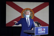 Biden apeloval na Floride najmä na seniorov.