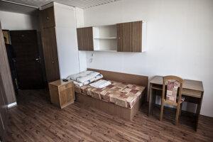 Ubytovňa Hviezda, známa pod menom Kukurica v roku 2013.