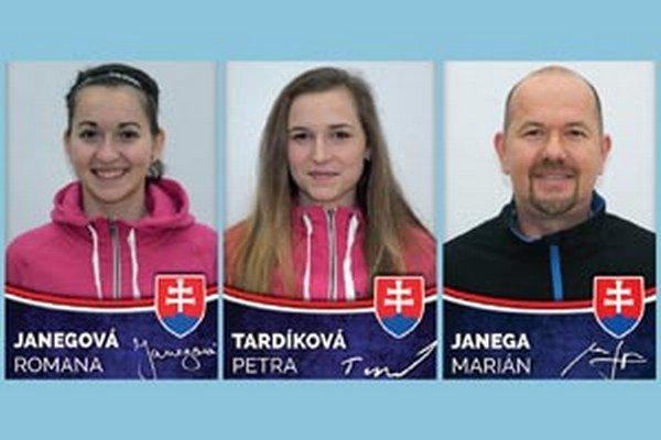 Klub SPU DFA Nitra budú na kvalifikácii zastupovať Roman Janega, Petra Tardíková a vedúci družstva Marián Janega.
