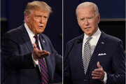 Kandidáti amerických prezidentských volieb Donald Trump a Joe Biden.