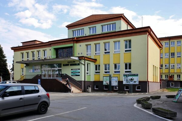 Nemocnica v Bardejove. Hlavný monoblok.