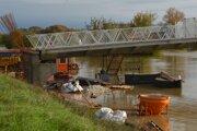 Rieka Nitra v minulom týždni napáchala aj škody.