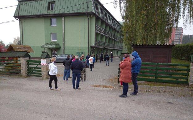 Odberné miesto na Strednej odbornej škole Lesníckej v Tvrdošíne.