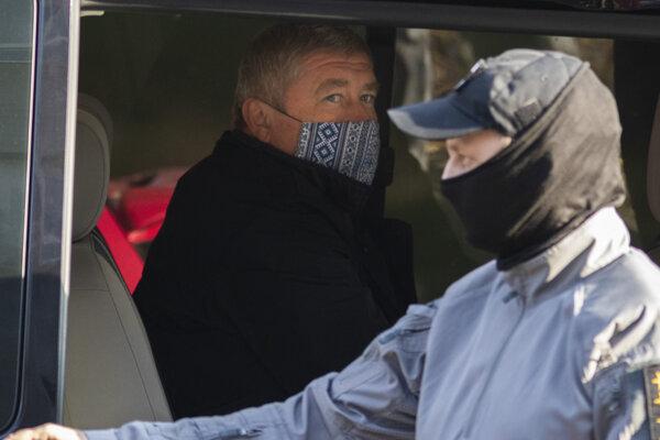 špeciálny prokurátor Dušan Kováčik, ktorého zadržala Národná kriminálna agentúra (NAKA) v Bratislave vo štvrtok 22. októbra 2020.