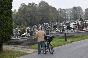 Bardejovský cintorín.