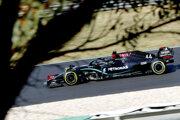 Lewis Hamilton na VC Portugalska F1 2020.
