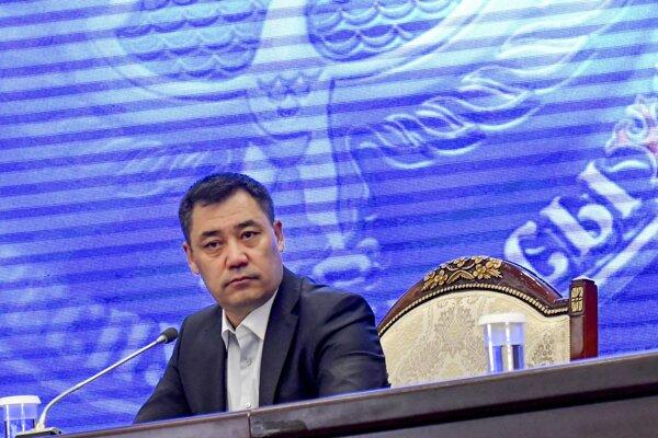 Úradujúci kirgizský premiér Sadyr Žaparov.
