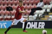 Veľký talent slovenského futbalu Martin Šviderský pôsobí v Manchestri United už vyše dva roky.