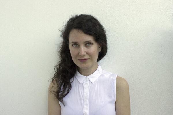Mária Bujňáková, dizajnérka a doktorandka na Katedre umení Technickej univerzity v Košiciach