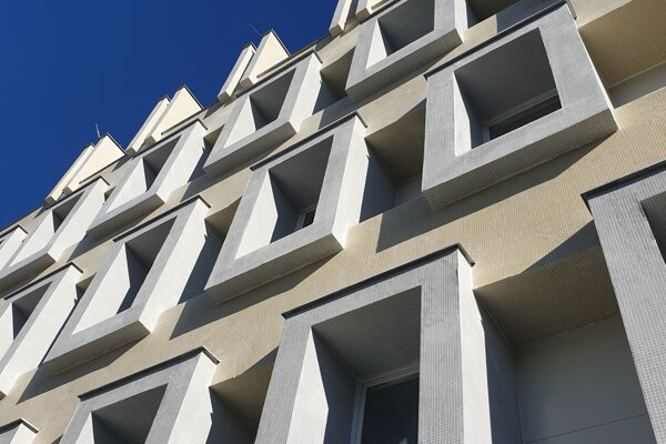 Budova NLC po rekonštrukcii.