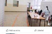 Žena požadovala od zdravotníkov v Dulovciach v okrese Komárno doklady.