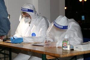 Prvý deň testovania v Krupine.
