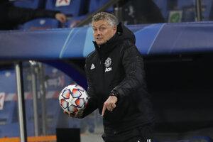 Tréner Manchester United Ole Gunnar Solskjaer.
