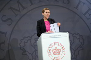 Dánska premiérka Mette Frederiksenová.