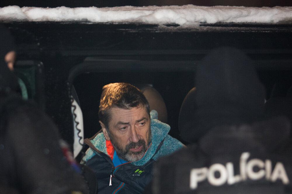 Zadržaný bos takáčovcov Ľubomír Kudlička.
