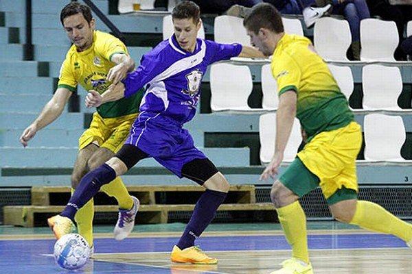 Nový muž v drese MFsK Martin Hrebík sa uviedol dvoma gólmi.