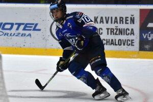 Filip Mešár je už v mladom veku pevnou súčasťou extraligového tímu Popradu.