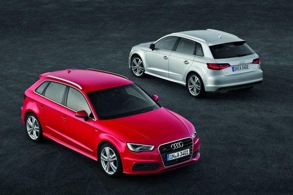 Trojkové Audi majú nových potomkov A3 Sportback a S3