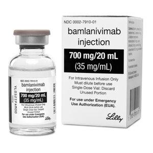 Experimentálny liek Bamlanivimab.