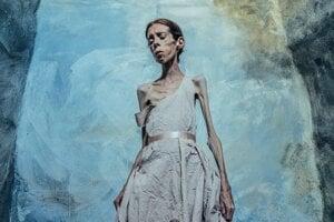 Nórska fotografka Lene Marie Fossen. Vznikol o nej film Autoportrét.
