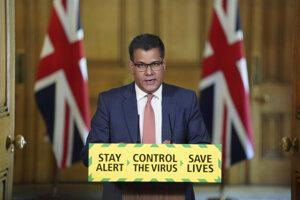 Alok Sharma, britský minister pre podnikanie.