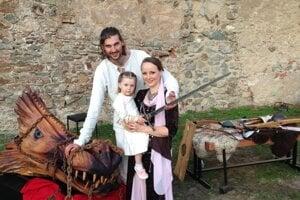 Michal Keruľ s rodinou.