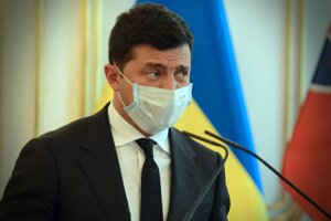 Prezident Ukrajiny Volodymyr Zelenskyj.