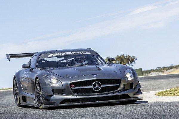 "Mercedes SLS AMG GT3 ""45th ANNIVERSARY""."