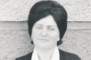Portrét spisovateľky z roku 1974