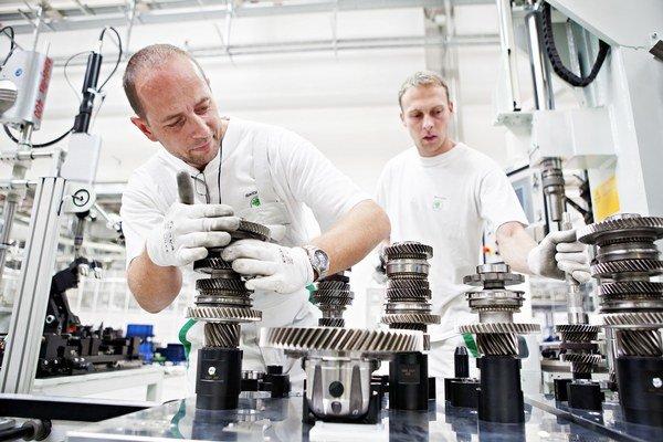 Prevodovku DSG označenú ako DQ200 vyrábajú v Českej Republike.