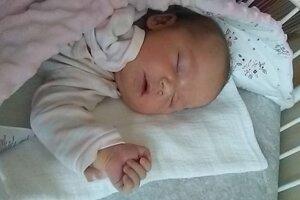 Tamia Dominová (3720 g, 50 cm) sa narodila 29. októbra Kataríne a Andrejovi z Hrádku.