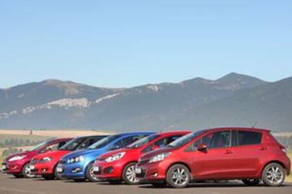 V nabitej konkurencii malých áut je ťažko vyberať víťaza. Pomohli aj diváci.