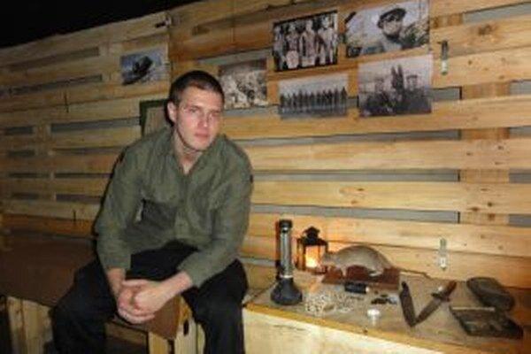 Študent Lukáš Néger so spolužiakmi priblížia prvú svetovú vojnu deťom.