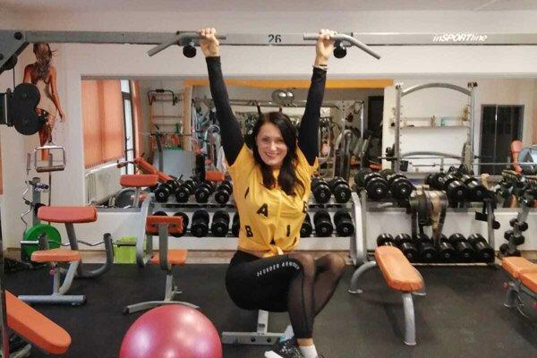Marietta v jej fitness centre, pre koronavírus ho mala zatvorené tak dlho, ako ešte nikdy počas jeho 18-ročnej existencie.
