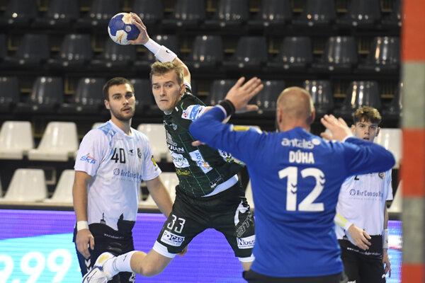 Dávid Michalka ako jediný odohral proti ŠKP celý zápas bez striedania.