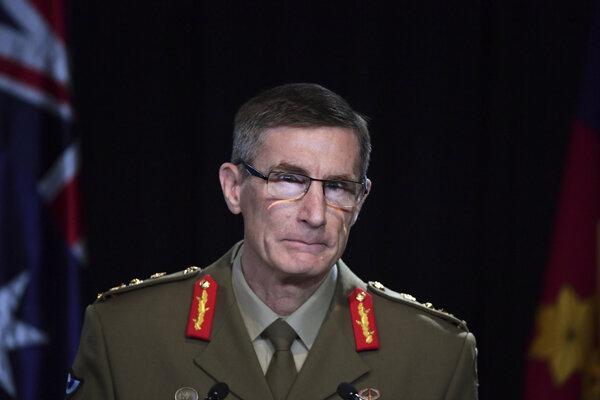 Náčelník ADF Angus Campbell.