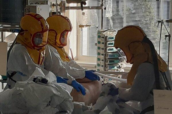 Oddelenie anestéziológie a intenzívnej medicíny v košickej nemocnici.