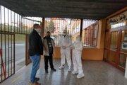 Primátor Levoče spolu s prednostom počas celej soboty obchádzali odberné miesta v meste.