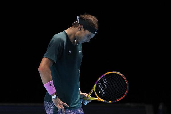 Rafael Nadal na Turnaji majstrov.