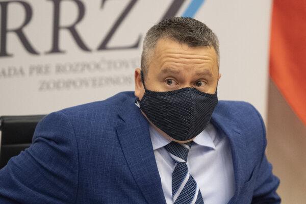 Ján Tóth, predseda Rady pre rozpočtovú zodpovednosť.