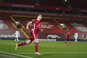 Diogo Jota z Liverpool FC.