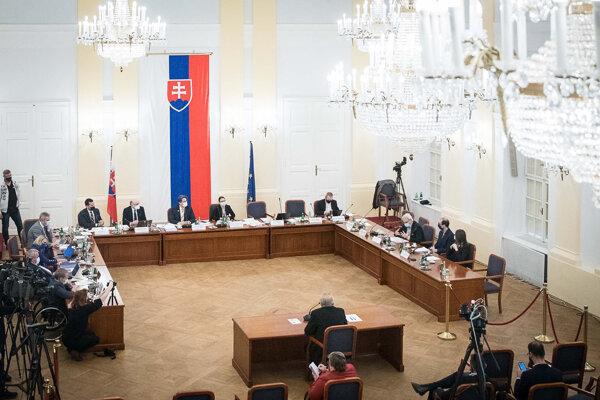 Vypočúvanie kandidátov na generálneho prokurátora.