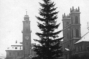 Rok 1920 - prvý osvetlený stromček