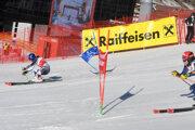 Petra Vlhová dnes - paralelný obrovský slalom v Lech Zürs LIVE.